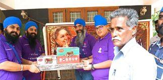 Sant Baba Satnam Singh Ji and MGCA recited the MOOL MANTAR in Kerala before giving AID