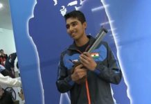 Saurabh Chaudhary clinches gold in ISSF Shooting World Championship