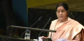 Sushma Swaraj slams Pakistan over terrorism issue in UN General Assembly