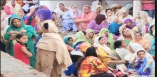 Moga Village sadda singh wala One Farmer Death