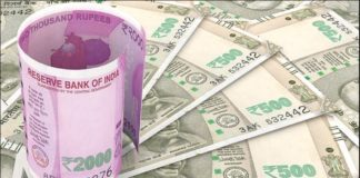dollar against Strong rupee