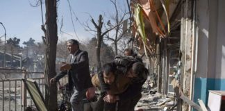 14 killed in bombing at candidate rally in Afghanistan