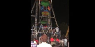 Nawanshahar Dussehra Fair Swing broken girl including Many injured