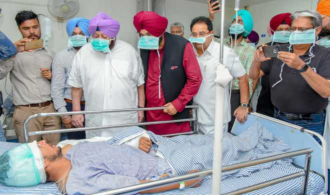 Amritsar Accident: Punjab CM visits nearly 16 hours after tragedy