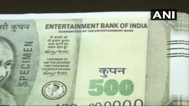 Couple dupes jeweller with 'Entertainment Bank Of India' notes in Ludhiana