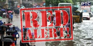 TN issues red alert acrossthe statefor October 7 after Met department predicted heavy rain