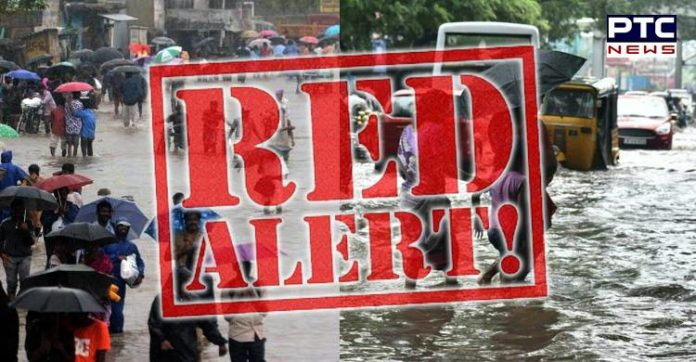 TN issues red alert across the state for October 7 after Met department predicted heavy rain