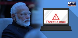 Cop receives threat e-mail claiming PM Modi will be 'assassinated in 2019'
