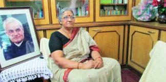 Cong fields Vajpayee's niece Karuna Shukla against CM Raman Singh in Chhattisgarh