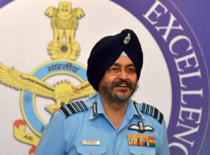 Indian Air Force Chief B S Dhanoa