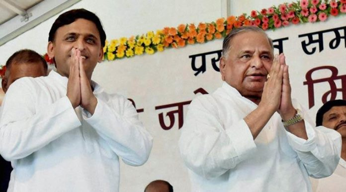 Mulayam leaves SP workers wondering for whom to work for in LS polls - Akhilesh or Shivpal