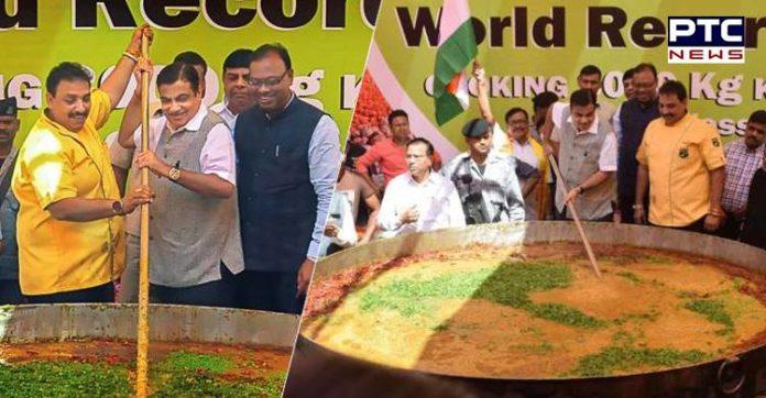 Nagpur Chef prepares 3000 kgs of Khichdi to set world record