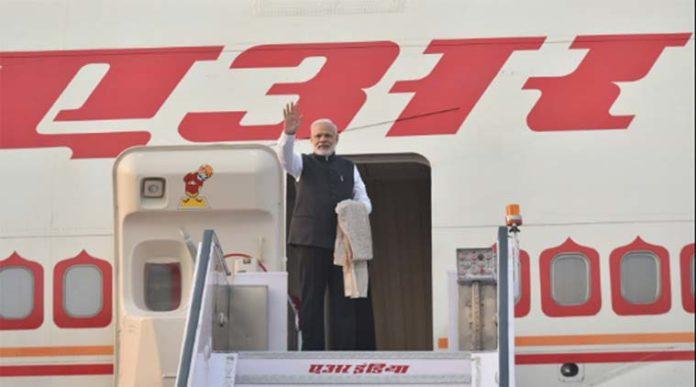 Prime Minister Modi arrives in Japan