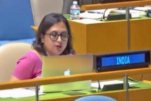 Paulomi Tripathi, First Secretary in India's Permanent Mission to the UN