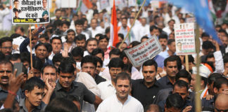 Rahul detained along with cong leaders, says PM can run but not hide from the truth