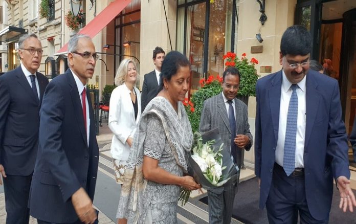 Sitharaman visits Rafale manufacturing facility in France