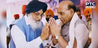 SAD Delegation Sikh issue Home Minister Rajnath Singh Visit
