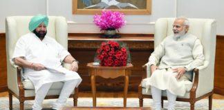 Punjab CM meets PM Modi to press for compensation for stubble burning