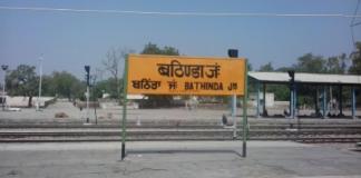 bathinda railway punjab trains festivals