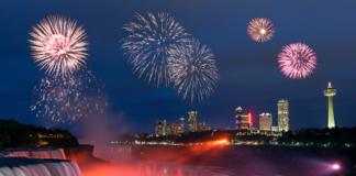 Fireworks to welcome Diwali at Niagara Falls in Canada
