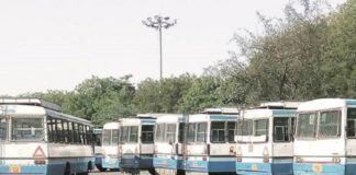 haryana roadways haryana protest bus two days