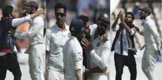 India vs WestIndies: match During fan breaks security cordon for selfie with Virat Kohli