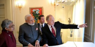 India and Russia are expected to sign two major arms deals today