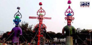 Madhya Pradesh Madhasore Do not burn Ravana Putla