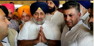 Amritsar railway accident Injured families With grief Sharing Arrived Sukhbir Badal