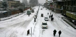 Heavy snowfall in Kashmir, Himachal, Uttarakhand