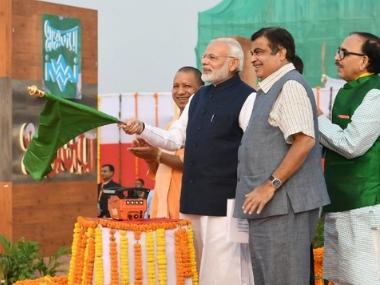 PM Modi inagurates multi-modal terminal on the Ganga river