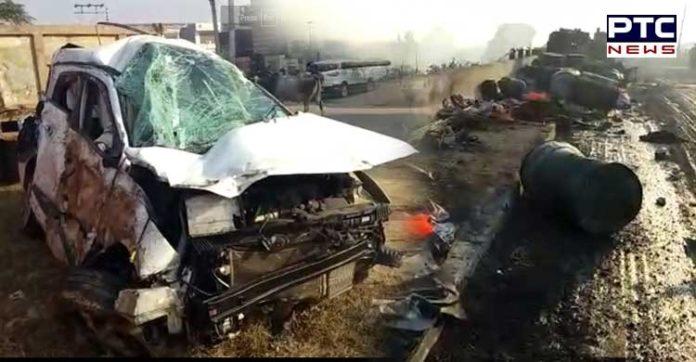 Hansi car accident