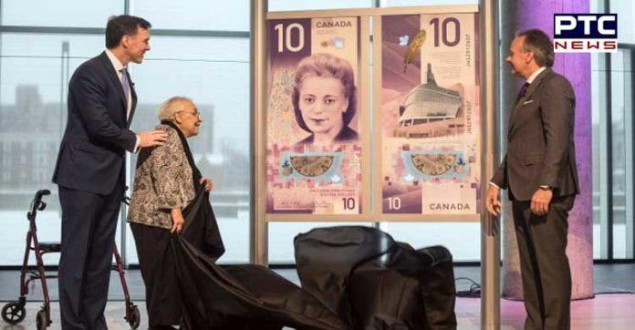 Canada New $10 bill featuring Viola Desmond portrait