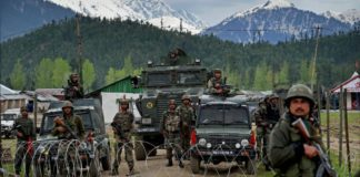 Jammu and Kashmir Pulwama Security forces Two terrorists Pile