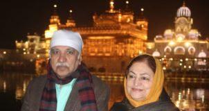 Sunil Arora pays obeisance at Harmandir Sahib