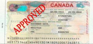 visitor visa canada rules