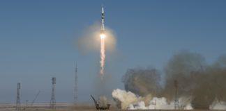 3 astronauts blast off to International Space Station