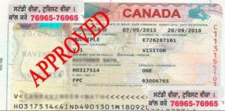 visitor visa canada