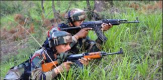 Jammu and Kashmir Pulwama Terrorists and security forces between Continued fight 1 terrorist Death