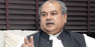 Parliamentary Affairs Minister Narendra Singh Tomar