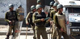 Three policemen killed in Shopian by terrorists