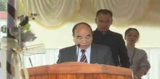 Zoramthanga sworn in as Mizoram CM for third time