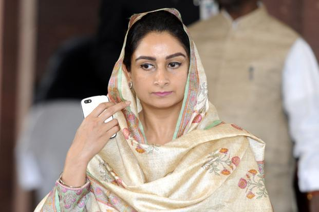 Harsimrat Badal demands action against Gandhi family