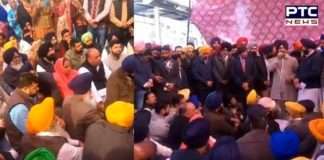 Ludhiana: Rajiv Gandhi statue black-marketing Case SAD DC Office protest