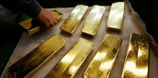 Gold seized in india
