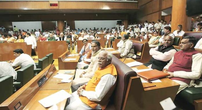 Haryana Assembly's brief winter session likely to be a stormy affair (File Pic)