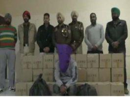 Illicit liquor bottles seized, one arrested in Jalandhar