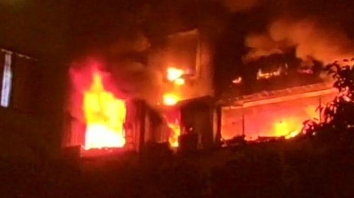 mumbai 14th floor chembur fire 7 people were killed