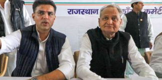 Gehlot to be Rajasthan CM, Pilot his deputy