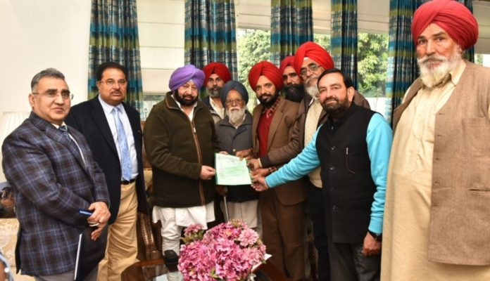 Capt Amarinder Singh Free domestic power conditions Delete freedom fighters Heirs Demand PSPCL Said